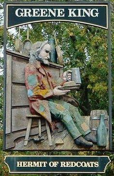 Hermit of Redcoats, Titmore Green, Herts, UK