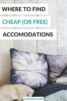 Hostels, short-term apartments, Couchsurfing, farm stays, house sitting - those are just a few ways to save money on accommodation and still still enjoy proper comfort and safety. Learn more about them!