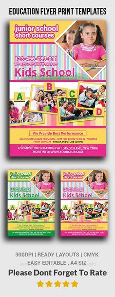 Pamplet Design, Flyer Design, Print Design, Design Ideas, Graphic Design, School Advertising, Wellness Activities, Flyer Printing, Insert Image