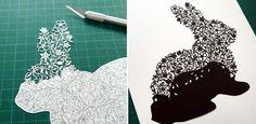 Творчество Suzy Taylor. Талантливая британка вырезает из бумаги настоящие произведения искусства.