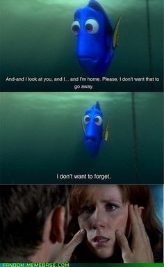 """And--and when I look at you, and I...and I'm home. Please, I don't want that to go away. I don't want to forget."" two scenes that break my heart #dori #donnanoble #doctorwho"