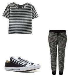 """""""Untitled #23"""" by amysonmaijah on Polyvore featuring WithChic and Converse"""