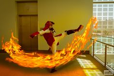 Avatar Fire Mako warming up by vangherphotography.deviantart.com; Costumes & Cosplay