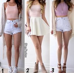 Que lindo - May 25 2019 at Stylish Summer Outfits, Summer Outfits For Teens, Fall Fashion Outfits, Cute Casual Outfits, Teen Fashion, Jugend Mode Outfits, Urban Fashion Trends, Looks Cool, Style