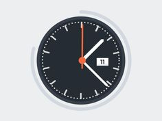 Clock [gif] by ILENOLIUKGO