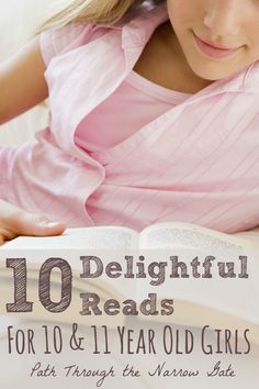 This list of books for 10-11 year old girls includes stories of strong, spunky, kind girls who will become fictional friends that your girl will cherish for years. Books For Tween Girls, Good Books For Tweens, Great Books, Kids Reading, Reading Lists, Book Lists, Early Reading, Chapter Books, Book Nooks