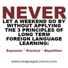 Stay motivated, unlock your full potential!  www.LanguageComics.com