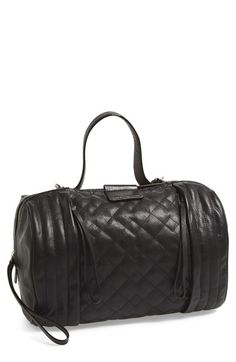 c6dbcc55fd MARC BY MARC JACOBS  Moto Barrel  Quilted Leather Satchel available at   Nordstrom Marc