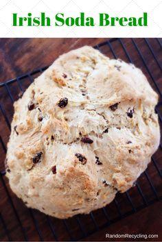 Irish Soda Bread for St. Patrick's Day | Random Recycling http://randomrecycling.com/irish-soda-bread-for-st-patricks-day/