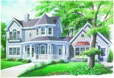 Main image for house plan # 3533  ((A GIRL CAN DREAM))