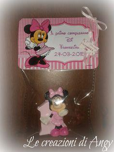 Bomboniere Minnie primo compleanno