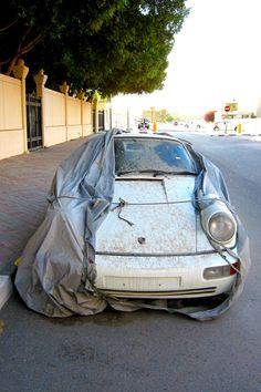 Abandoned Porsche