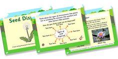 Australia Life Cycles Seed Dispersal Task Setter -