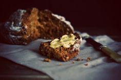 Irish Treacle Soda Bread - Citrus and Candy