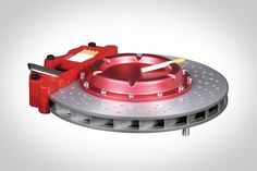 RACING BRAKE DISC ASHTRAY