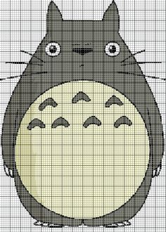 Ideas - Totoro. New at making patterns!