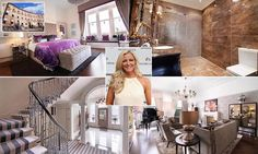 Lingerie boss Michelle Mone sells lavish Scottish townhouse for Building Plans, Very Well, Townhouse, Boss, Lingerie, Luxury, Mail Online, Daily Mail, Interiors