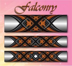 Falconry step by step Custom Rod Building Cross Wrap Pattern Facebook Page - Ademir Romano