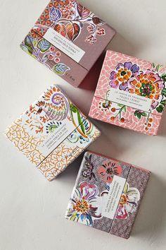 Charming packaging for Le Jardin de Fragonard parfum