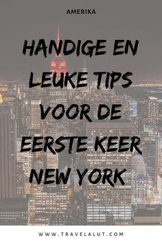 Ga je naar New York? Check dan hier allerlei handige tips New York, zoals kosten New York, bezienswaardigheden New York, tips voor de eerste keer New York en meer. Je bekijkt het hier! #newyork #amerika #stedentrip #newyorkcity New York Trip, New York Travel, New York City, Bronx Zoo, Broadway Nyc, Brooklyn Bridge, Travel Inspiration, Times Square, Places To Go