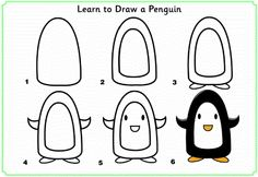 learn_to_draw_a_penguin http://www.activityvillage.co.uk/learn_to_draw_animals.htm
