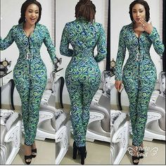New beautiful and sexy ankara jumpsuit style for ladies
