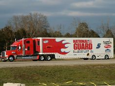 Freightliner Coronado, NASCAR, Hendrick Racing, National Guard
