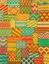 Want to do a huge, colourful bargello sampler one day. From Tonyshandwerkblog.blogspot.com.