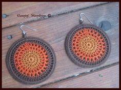 crocheted earrings!