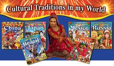 Cultural Traditions in My World series - explores religion, food, and celebrations of countries around the world. Grades K-3