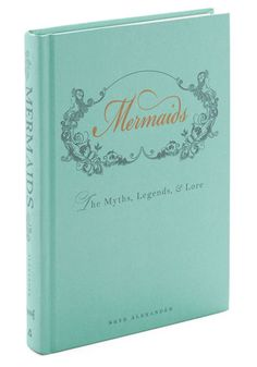Mermaids: The Myths, Legends, & Lore - Multi, Nautical, Good, Under $20, Gals, Nifty Nerd, Top Rated, Pastel