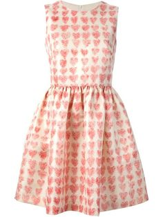 Shop Red Valentino heart print dress in Luisa Boutique from the world's best independent boutiques at farfetch.com. Over 1000 designers from 60 boutiques in one website.