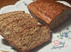 Healthy bread without flour Slovak Recipes, Czech Recipes, Russian Recipes, Low Carb Recipes, Bread Recipes, Cooking Recipes, German Bakery, Tasty, Yummy Food