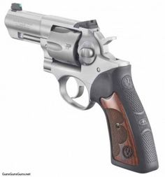 Ruger GP100 Wiley Clapp.  GP100 was designed to shoot thousands of rounds of full-power .357 Magnum ammunition without the worry of cracked forcing cones, blown topstraps, stretched frames or any other mechanical failures due to prolonged use.