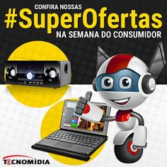Na #SemanaDoConsumidor o que não falta são ofertas na #Tecnomidia.  Confira: http://ift.tt/1Z8CCBl