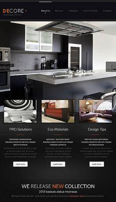 DECORE | #webdesign #it #web #design #layout #userinterface #website #webdesign < repinned by www.BlickeDeeler.de | Take a look at www.WebsiteDesign-Hamburg.de
