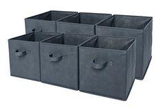 Sodynee® Foldable Cloth Storage Cube Basket Bins Organize... http://www.amazon.com/dp/B01BV3N6I2/ref=cm_sw_r_pi_dp_vezvxb1BV0BQV