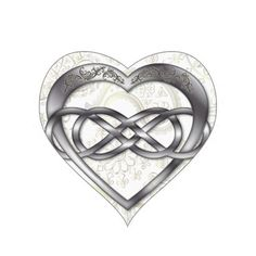 heart and infinity symbol