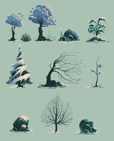 Winter on Behance