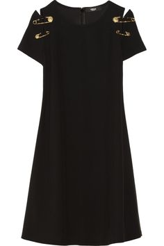 Versus | Embellished cady dress | NET-A-PORTER.COM