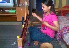 Bhutan, Weaving, Sari, Fashion, Saree, Moda, Fashion Styles, Loom Weaving, Fashion Illustrations