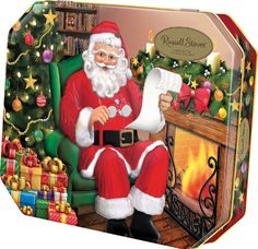 Looks good on my coffee table and it's an easy office gift. Russell Stover Santa Tin #ChristmasGifts #EasyChristmasGifts http://www.amazon.com/Russell-Stover-Santa-Tin/dp/B017OAG1LK/?ref=sr_1_1&sr=1-1&m=A2P937E183PRRG&qid=1448820828&s=merchant-items&refinements=p_4%3ARussell+Stover&ie=UTF8