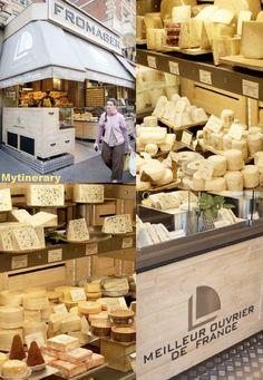Laurent Dubois, the ultimate cheese shop in Paris, France  Laurent Dubois Fromager: 47 ter Boulevard Saint Germain on Place Maubert (75005 Paris) and 2 rue de Lourmel near the Eiffel Tower (75015 Paris)    www.fromagelaurentdubois.com