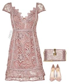 """Untitled #321"" by anaalex ❤ liked on Polyvore featuring Dolce&Gabbana, Semilla and dreamydresses"