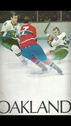 NHL program, c. Hockey Games, Hockey Players, Ice Hockey, Nhl, Gary Smith, Goalie Mask, Oakland California, Montreal Canadiens, Best Games
