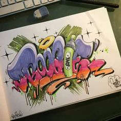 "Graffiti blackbook work by "" BOOGIE"""