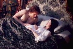 Claire's pregnant, and Jamie seems to be recovering from the trauma Black Jack inflicted on him last season.