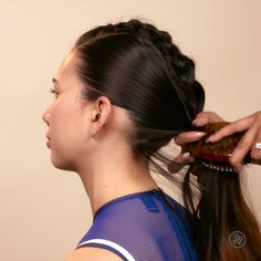A mohawk braid to give your pony some extra love