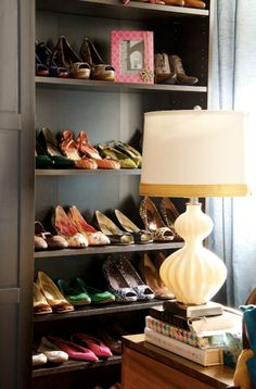 really want to have a shoes closet like this