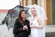 BLACK Crochet Umbrella- Halloween Costume- Victorian Parasol- Goth Umbrella- Steampunk Umbrella- Victorian Umbrella- Wedding Prop- Gift by ModernCrochetClub on Etsy https://www.etsy.com/listing/129737207/black-crochet-umbrella-halloween-costume
